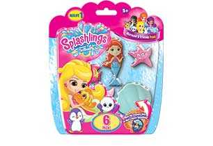 splashlings mermaid and friends 6 pack wave 1